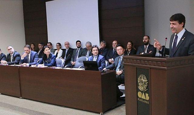 Presidente da CAA/PR prestigiou abertura de Congresso de Direito de Londrina