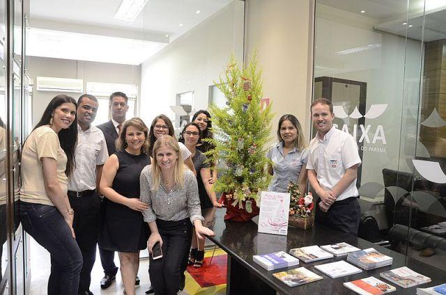 Árvore de Natal da CAA/PR homenageia diretores e funcionários da entidade