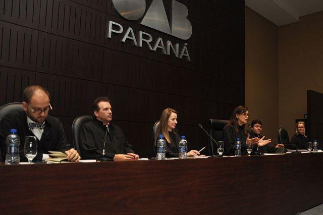 Presidente da CAA/PR participa de compromisso coletivo na OAB Paraná