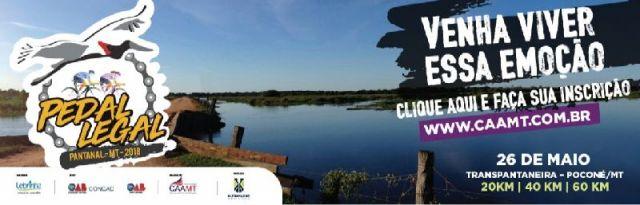 CONCAD e CAA/MT promovem primeiro Pedal Legal na região do Pantanal