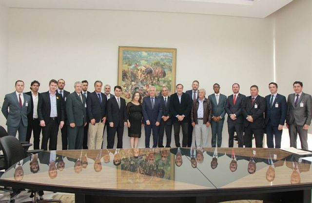 Diretor da CAA/PR integra comitiva que pleiteia elevação da comarca de Imbituva