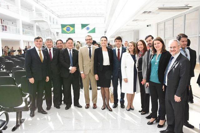 CAA/PR prestigia inauguração do Centro Judiciário de Curitiba