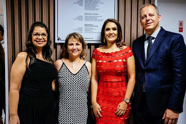 CAA/PR entregou Espaço de Convivência dos Advogados na OAB Toledo