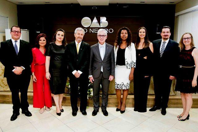 CAA/PR participa de posse da diretoria da Subseção de Rio Negro