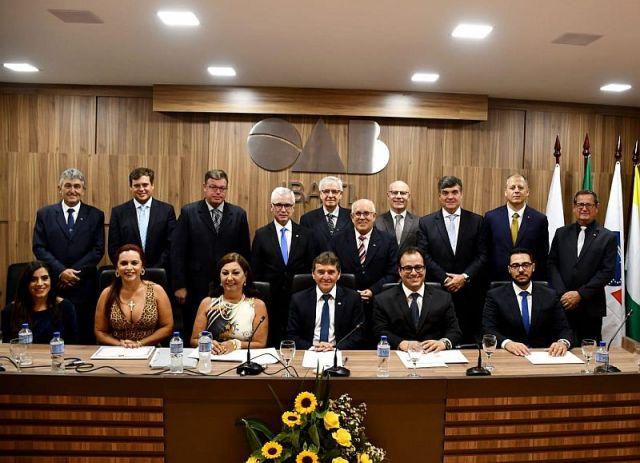CAA/PR participa de solenidades de posse das diretorias de cinco Subseções