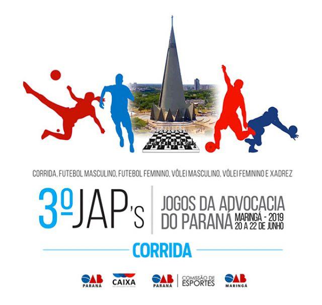 Inscrições abertas para a terceira edição dos Jogos da Advocacia do Paraná