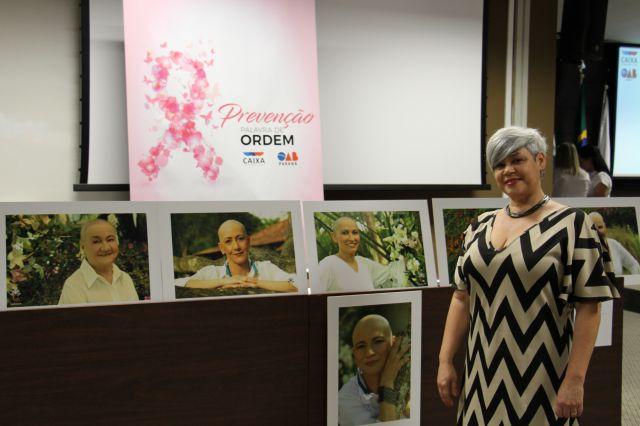 Fotógrafa retrata a importância do otimismo no enfrentamento do câncer