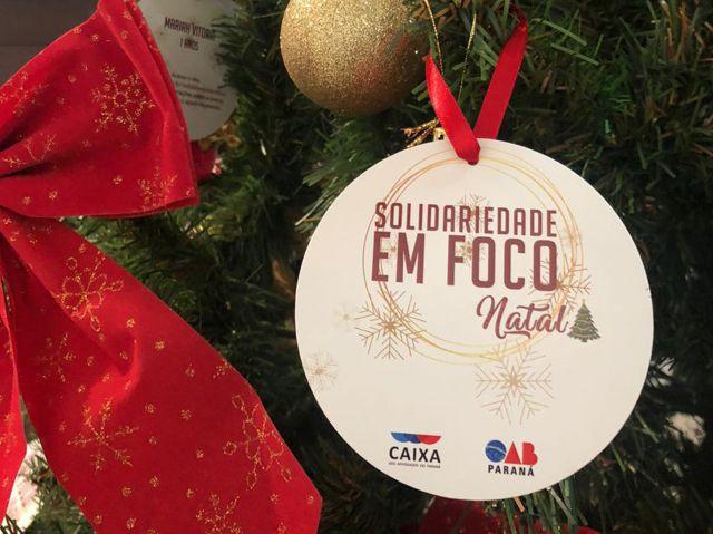 CAA/PR lança campanha Solidariedade em Foco - Natal