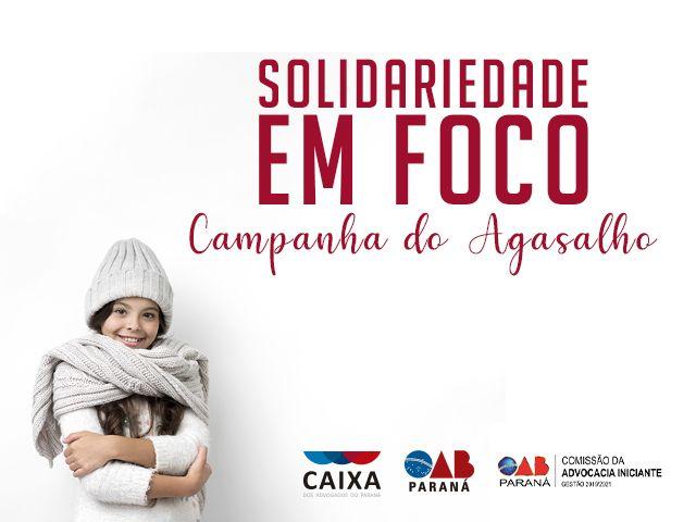 CAA-PR lança campanha de arrecadação de agasalhos