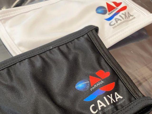 CAA-PR disponibiliza 30 mil máscaras para advogados paranaenses