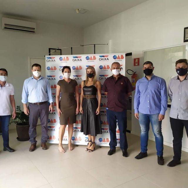 Mais de 65 advogados e dependentes são imunizados durante campanha de vacinação da CAA-PR em Guaíra
