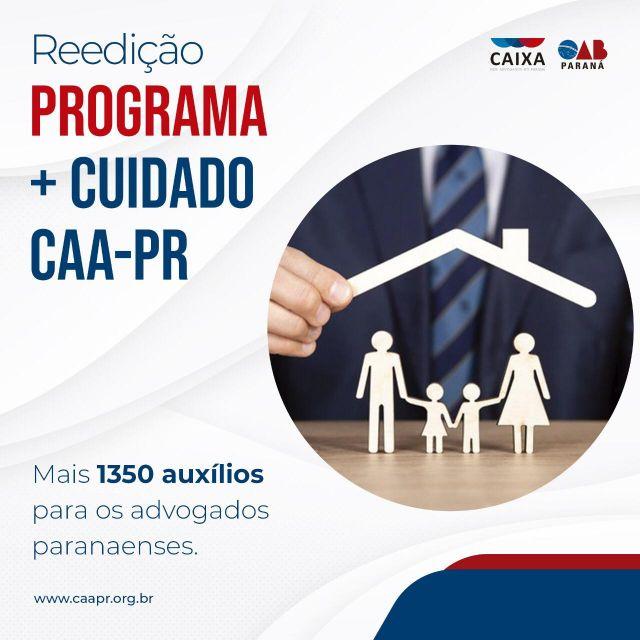 CAA-PR disponibiliza novo lote de auxílios de subsistência alimentar para advogados paranaenses