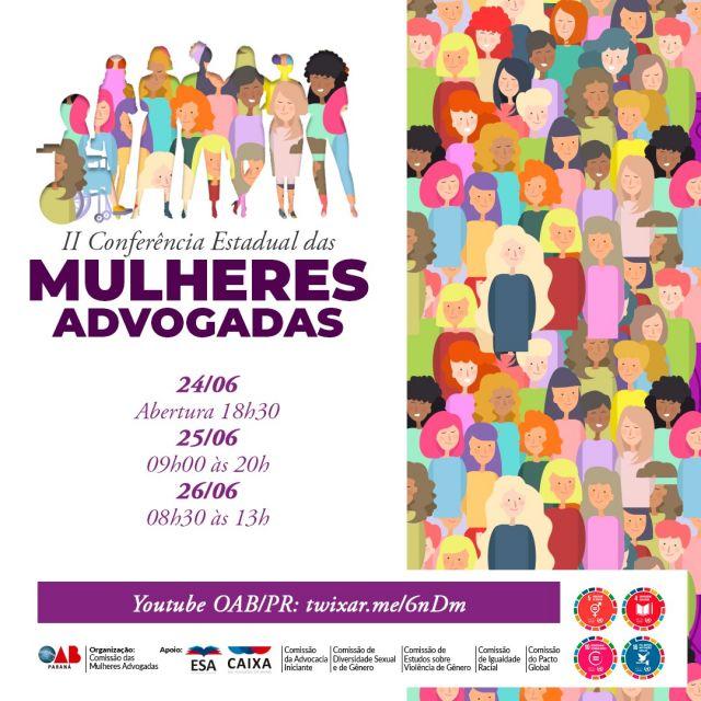 CAA-PR apoia II Congresso Estadual das Mulheres Advogadas