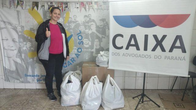 CAA-PR realiza segunda entrega de doações da Campanha do Agasalho 2021