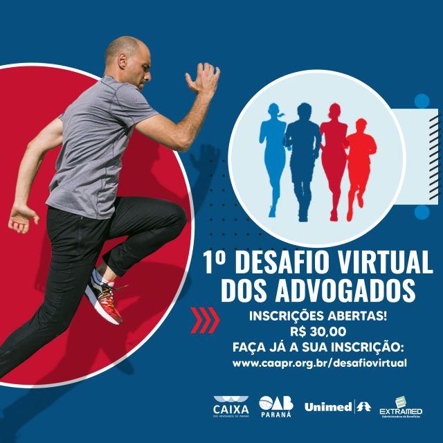 CAA-PR abre inscrições para o 1º Desafio Virtual dos Advogados