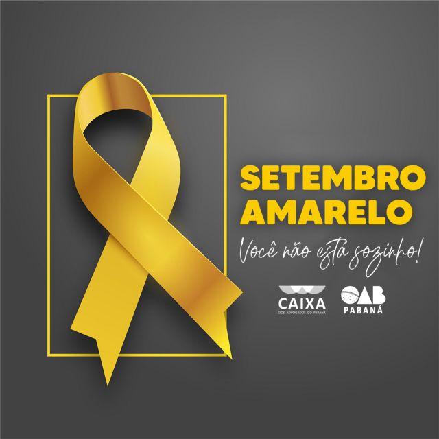 """Campanha """"Setembro Amarelo: Você não está sozinho"""" incentiva prevenção do suicídio"""