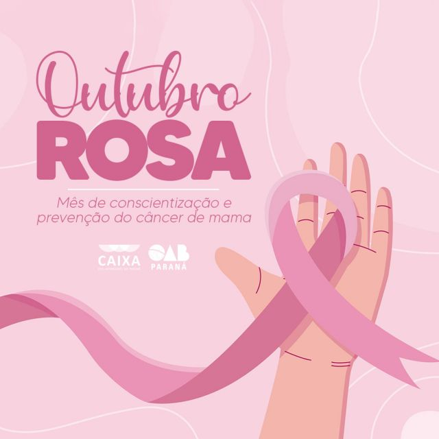 CAA-PR lança campanha Outubro Rosa para advogadas e dependentes estatutárias