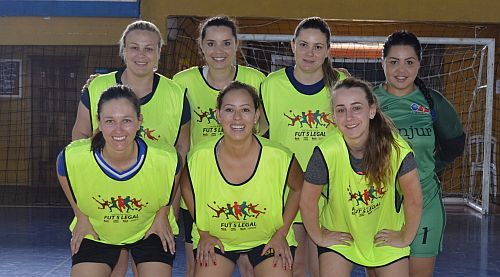 19/12/2018 - Time do projeto Fut5 Legal da CAA/PR conquista 2º lugar na I Copa Legal de Futsal Feminino